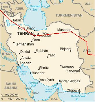 On the Hippie Trail: Iran